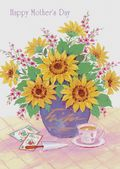 Mother's Day Card-Sunflowers Card